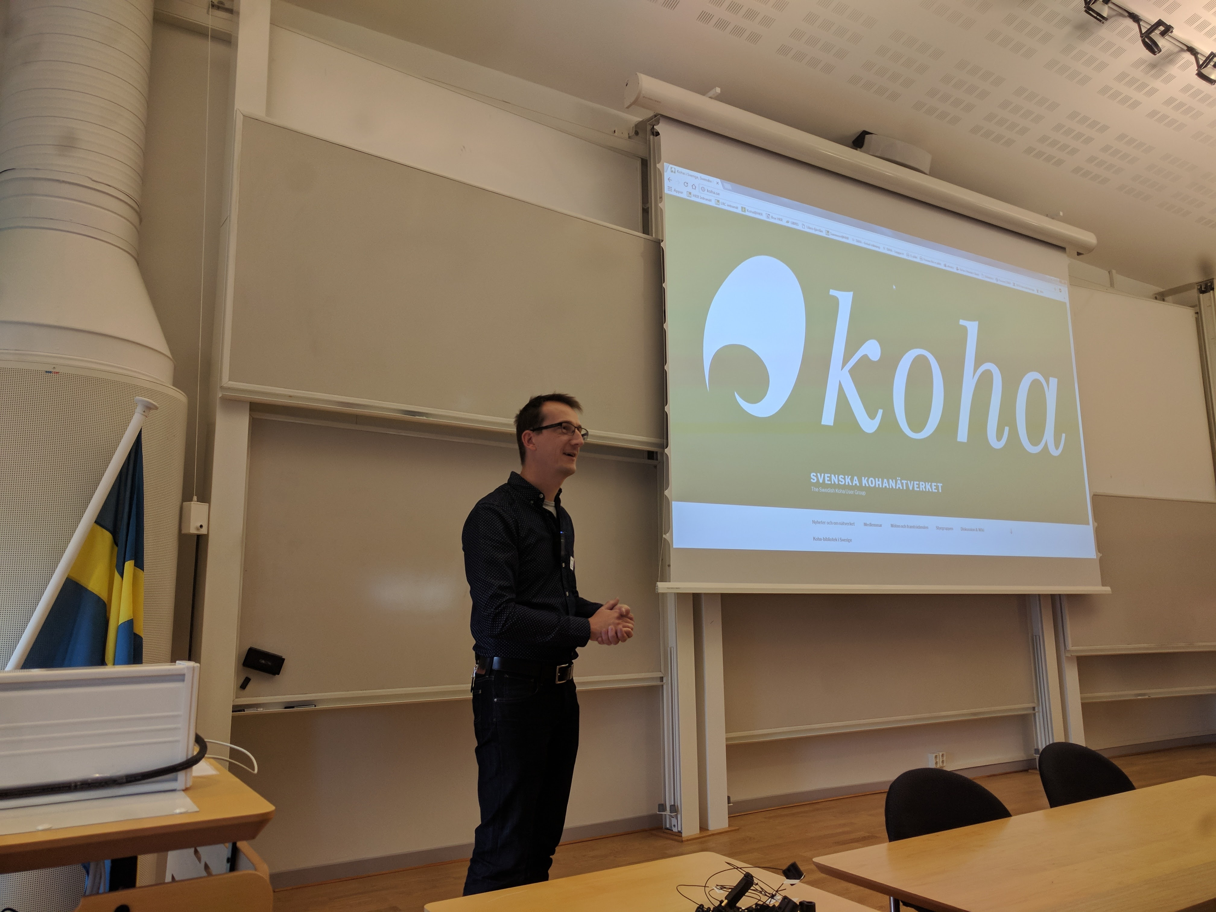 Summary of  Swedish Koha User Group Meeting at Kristianstad University Library